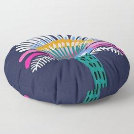 Zelestial Flower Floor Pillow