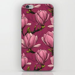 Magnolia garden iPhone Skin