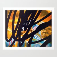 carousel Art Prints featuring CAROUSEL by Brandon Neher