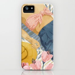 Beach Vacay #society6 #travel #illustration iPhone Case