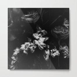 Moody Blooms Metal Print