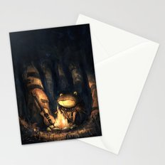 Campfire Frog Stationery Cards
