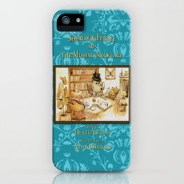 Sherlock Ferret and the Missing Necklace (cover) iPhone Case