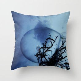 BubbleTree Throw Pillow