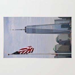 Freedom Symbol/Freedom Tower Rug