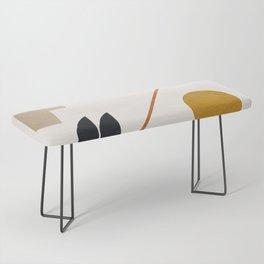 abstract minimal 6 Bench