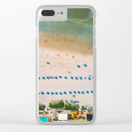 Folly Summer Clear iPhone Case
