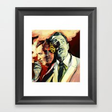 The Many Faces of Vincent Price Framed Art Print
