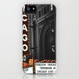 Historic Chicago Theatre iPhone Case
