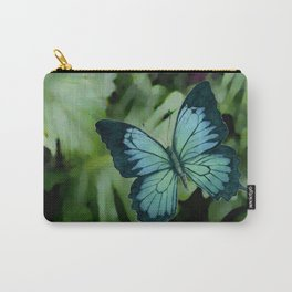 Tropical Blue Ulysses Butterfly Carry-All Pouch