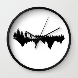 Hiking Life Wall Clock