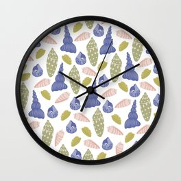 Seashells Wall Clock
