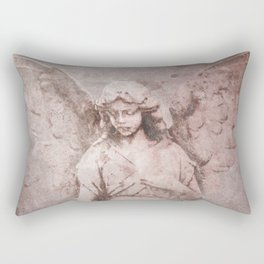A Guardian Angel, To Watch Over Us A322b Rectangular Pillow