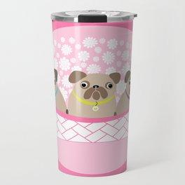 Bouquet of dogs Travel Mug