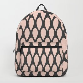 Abstract Rain Pattern Backpack