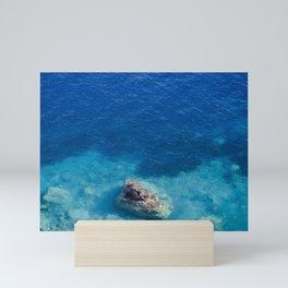 Sea with Clear Blue Waters Mini Art Print