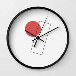 Suprematism – Artwork 1 Wall Clock