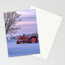 Case and Plow Stationery Cards