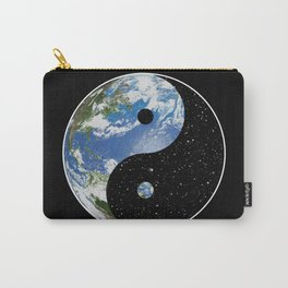 Earth / Space Yin Yang Carry-All Pouch