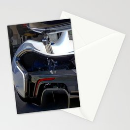 McLaren P1 rear end Stationery Cards