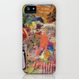 On 50 Brain Cells iPhone Case