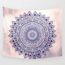PASTEL PINK MANDALIKA DREAM Wall Tapestry