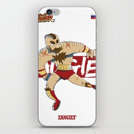 Zangief - Street Fighter iPhone Skin