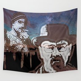 Breaking Bad Over New Mexico Sunset Wall Tapestry