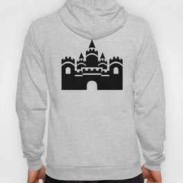 Kingdom Castle Silhouette Icon Clipart Hoody