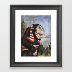 Monty Framed Art Print