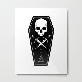 Coffin Club I Metal Print