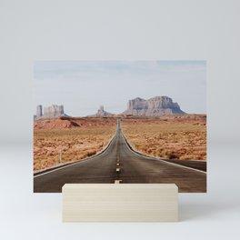 Desert Road Trip V Mini Art Print