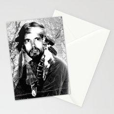Jason Wing as Hania Spirit warrior B&W Stationery Cards
