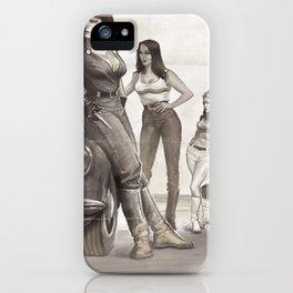Hot Rod Pussycats iPhone Case