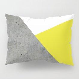 Concrete vs Corn Yellow Pillow Sham