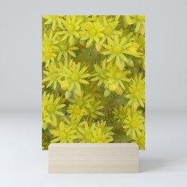 Yellow Spangle Mini Art Print