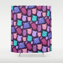 Dumbee Octee Shower Curtain