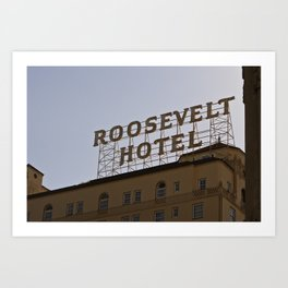 The Roosevelt Art Print