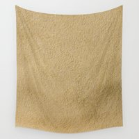 sand Wall Tapestries featuring Sand by Patterns and Textures