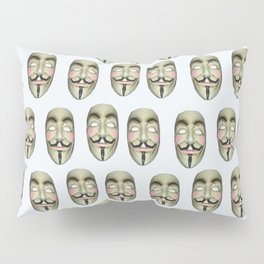 wir sind viele   (A7 B0017) Pillow Sham