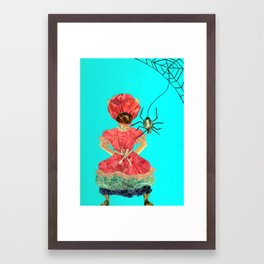 Let's be friends Framed Art Print