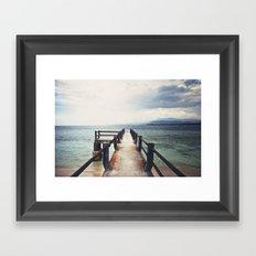 à la balisienne Framed Art Print