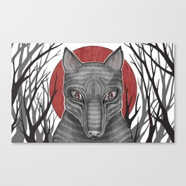 Four Arms - Wolf Canvas Print