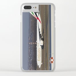 Emirates Boeing 777-300ER Clear iPhone Case