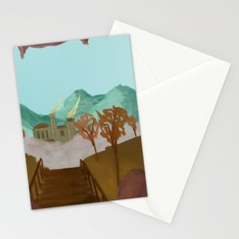 You have arrived Stationery Cards