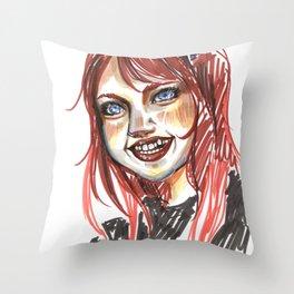 Babe Throw Pillow
