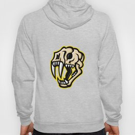 Saber-toothed Cat Skull Mascot Hoody