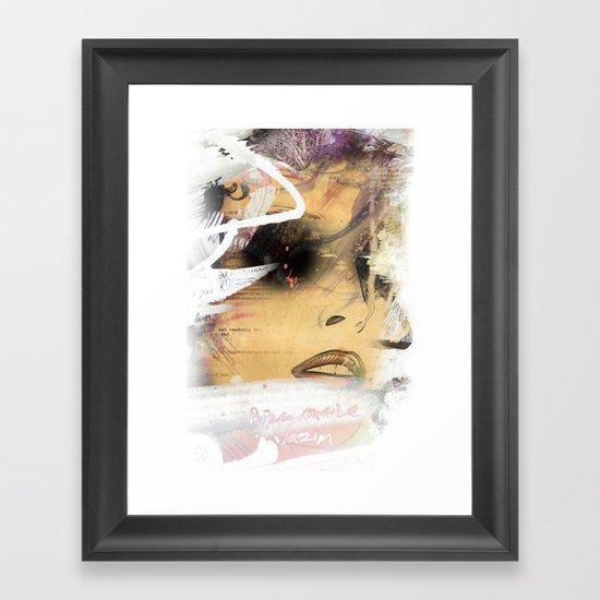 Eyes 2 Framed Art Print