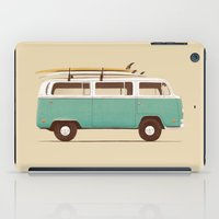 van iPad Cases featuring Blue Van by Florent Bodart / Speakerine