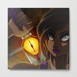 The Eye of the Sword Metal Print